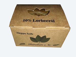 10% Lorbeeröl Original Aleppo Seife - Sharabati - Großhandel